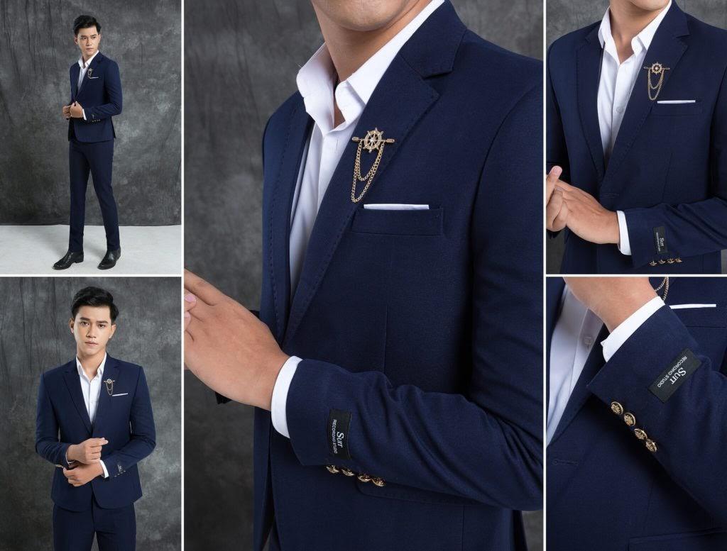 Áo vest nam - Cách chọn 1 bộ vest đúng tiêu chuẩn - Giày công sở BTA