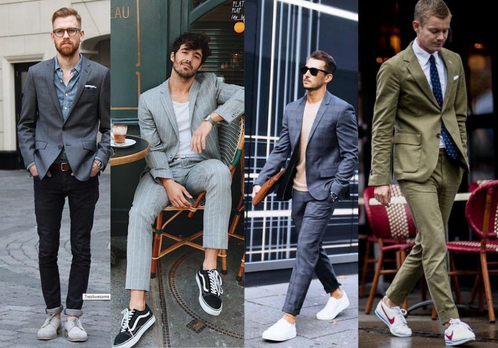 """Mặc Vest Đi Giày Gì? Mách Cho Nàng Cách Mặc Vest Không Bị """"Dừ"""" Suit-1"""